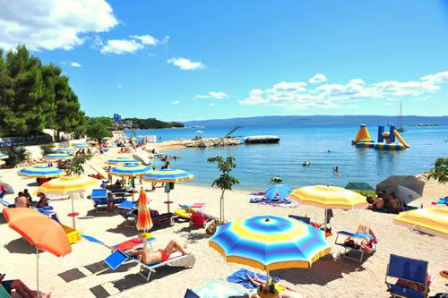 Beaches in Camping Stobreč Split