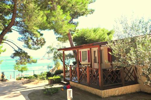 mobile homes near sea in dalmatia camping stobre split