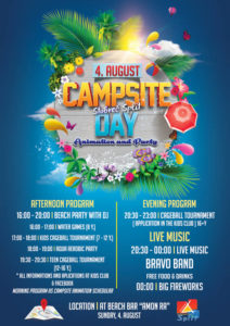CAMPSITE DAY (4. AUGUST) - Camping Stobreč Split