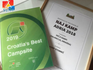 Camping Stobreč Split won two prizes