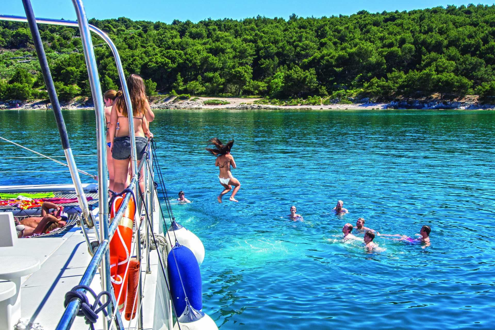 Boat trips - Camping Stobreč Split