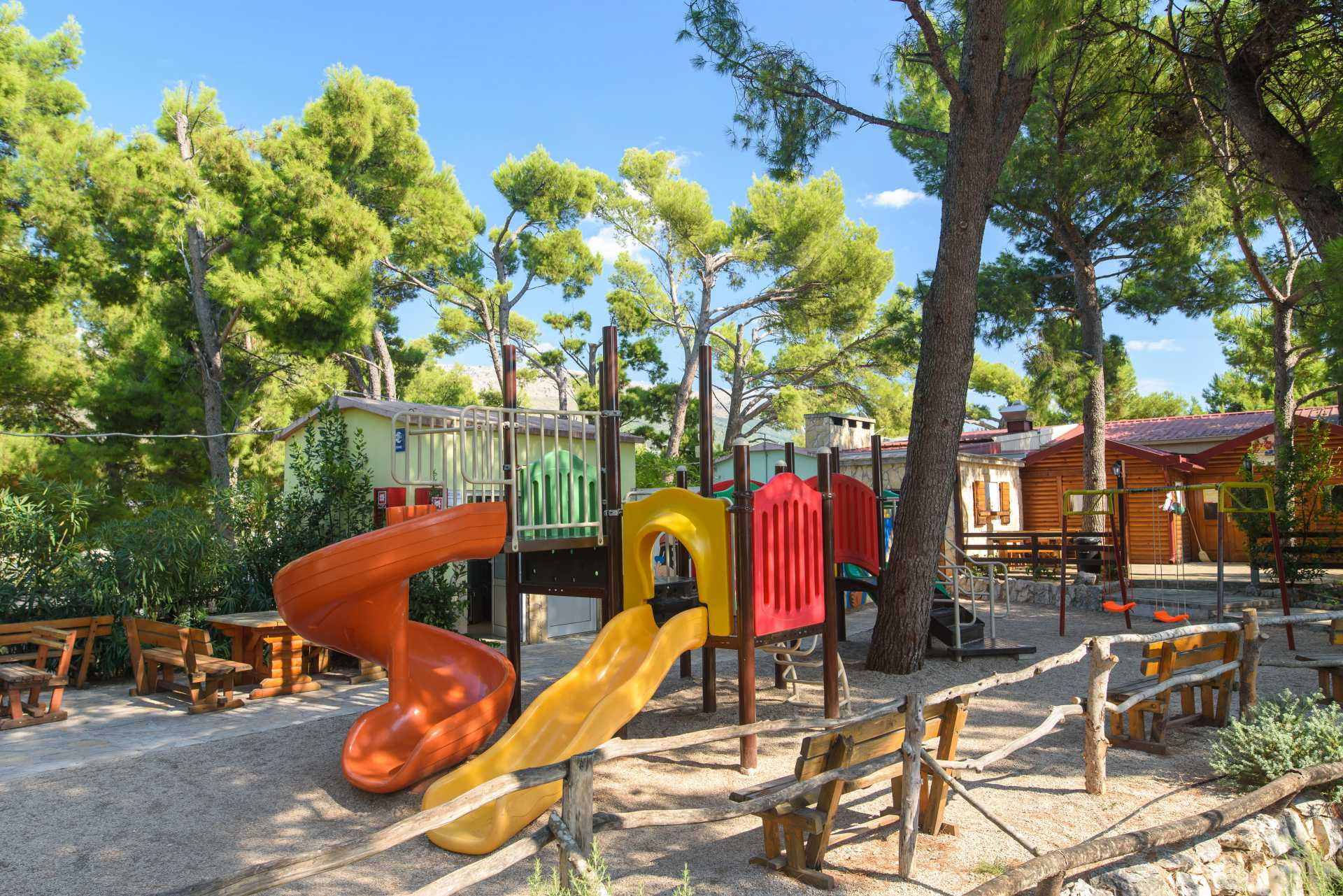 Additional facilities in campsite's offer